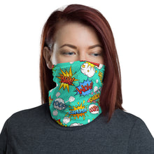 Load image into Gallery viewer, SERVER BOOK™ Neck Gaiter / Face Mask - Comic Book Superheroes!
