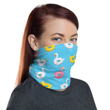 Load image into Gallery viewer, SERVER BOOK™ Neck Gaiter / Face Mask - Summer Pool Floats