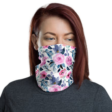 Load image into Gallery viewer, SERVER BOOK™ Neck Gaiter / Face Mask - Watercolor Flowers