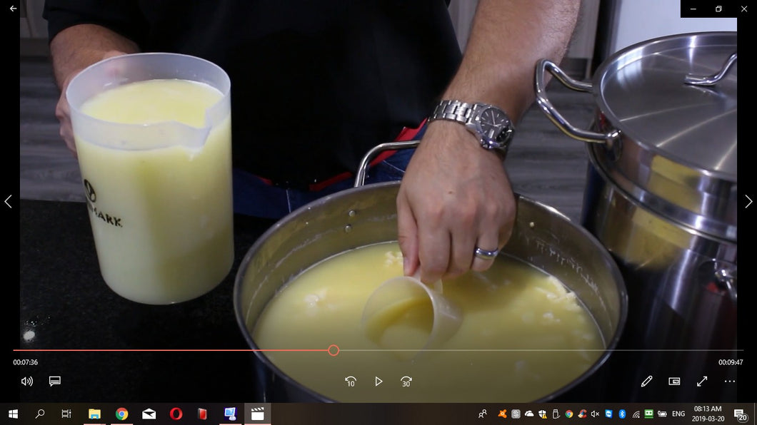 Gouda Sweetmilk Making Video - Download
