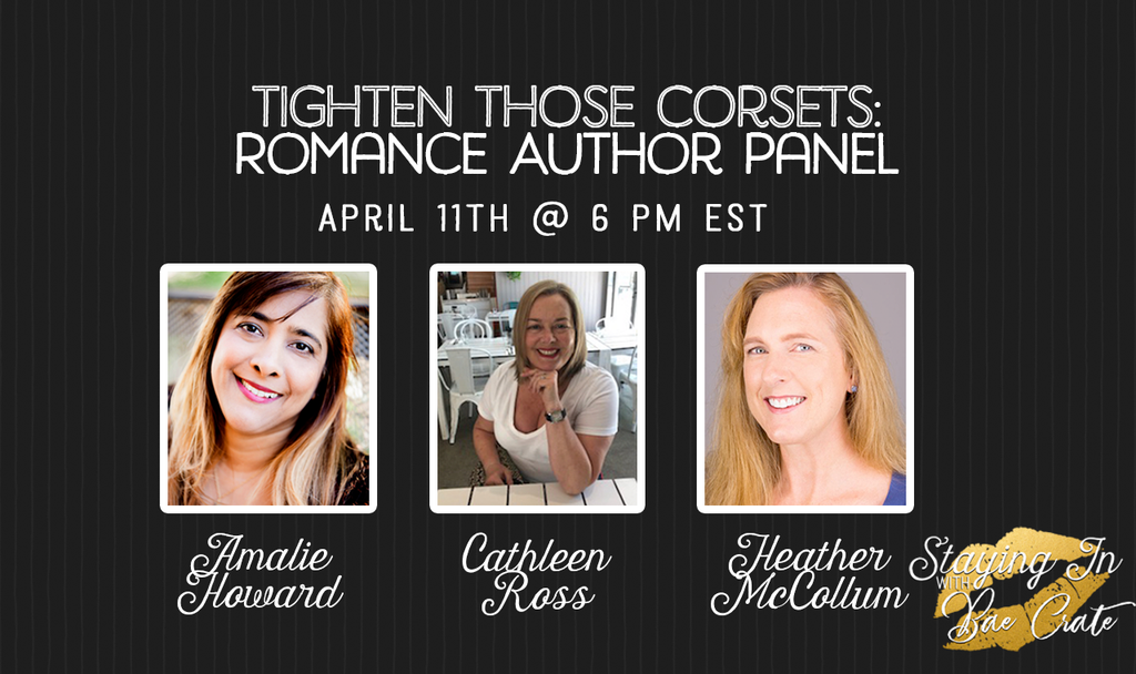 Tighten Those Corsets Author Panel: Amalie Howard, Cathleen Ross, & Heather McCollum