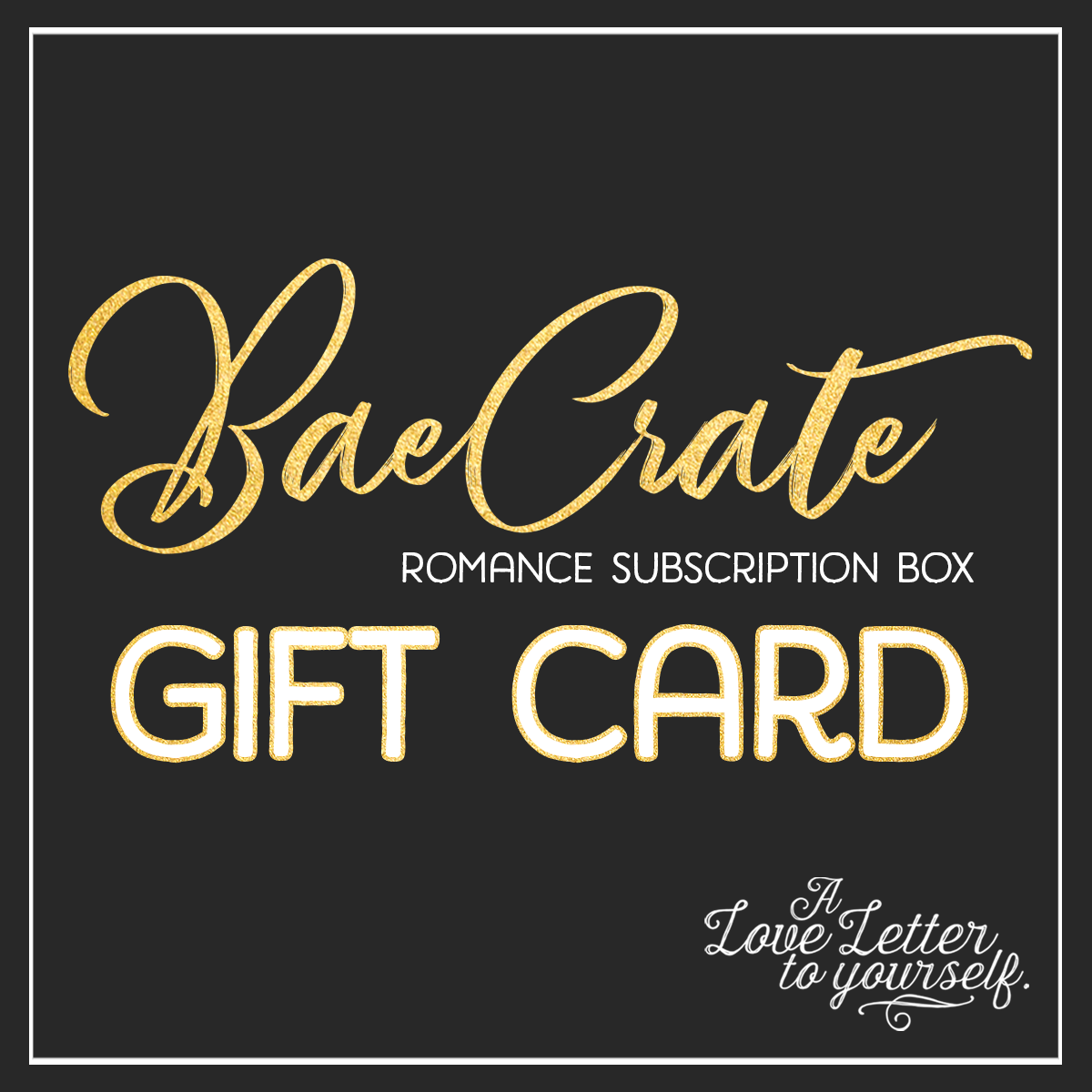 Bae Crate Gift Card