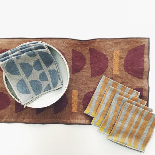 Block-printed Table Runner