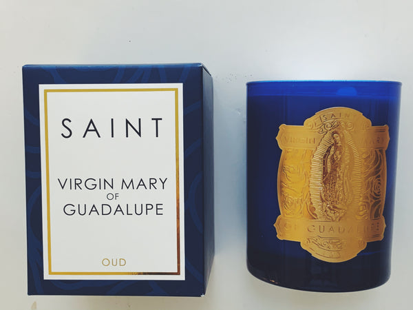 SAINT Candle - Virgin Mary of Guadalupe