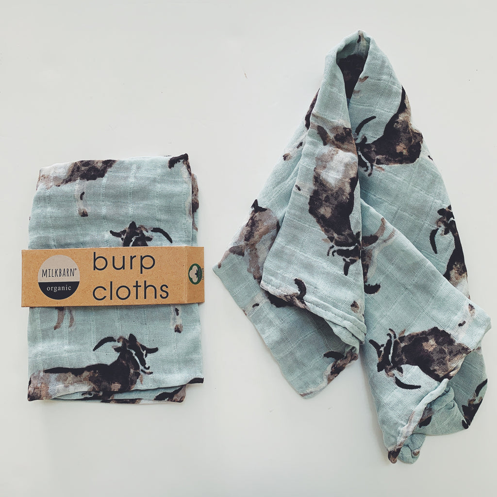 Organic Burp Cloths