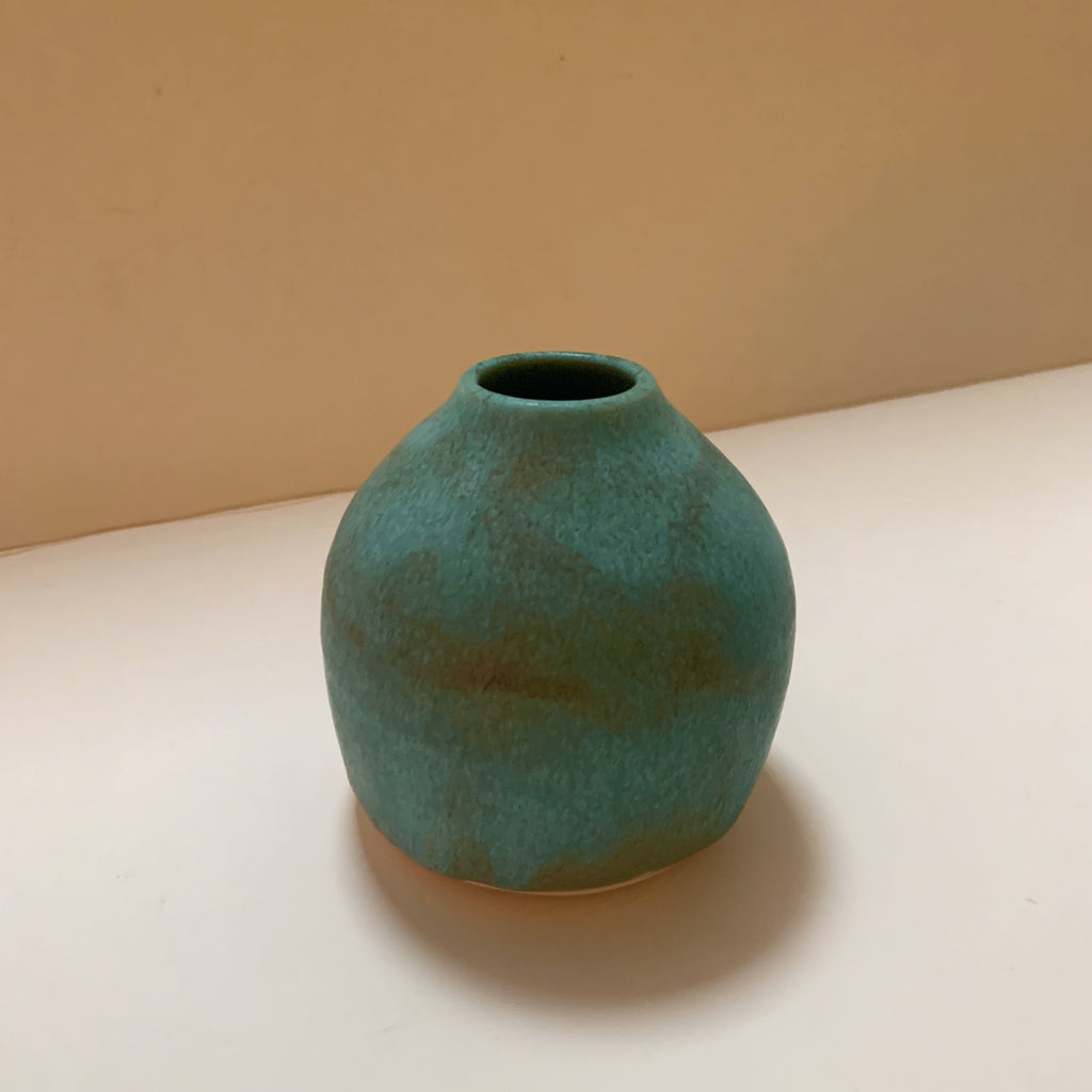 Small Turquoise Vase