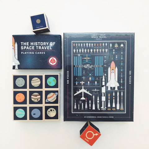 The History of Space Travel Playing Cards