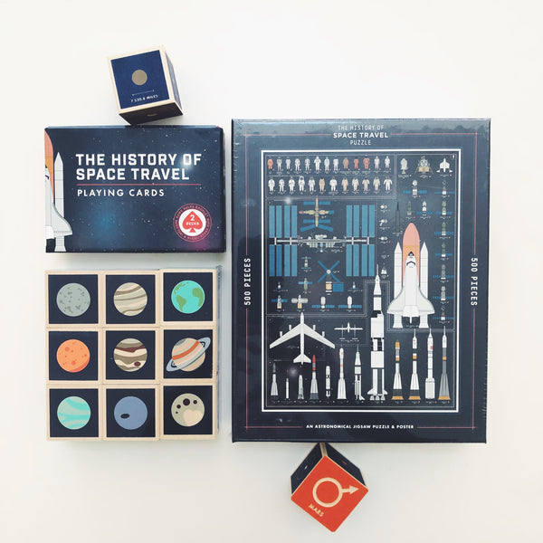 The History of Space Travel Puzzle