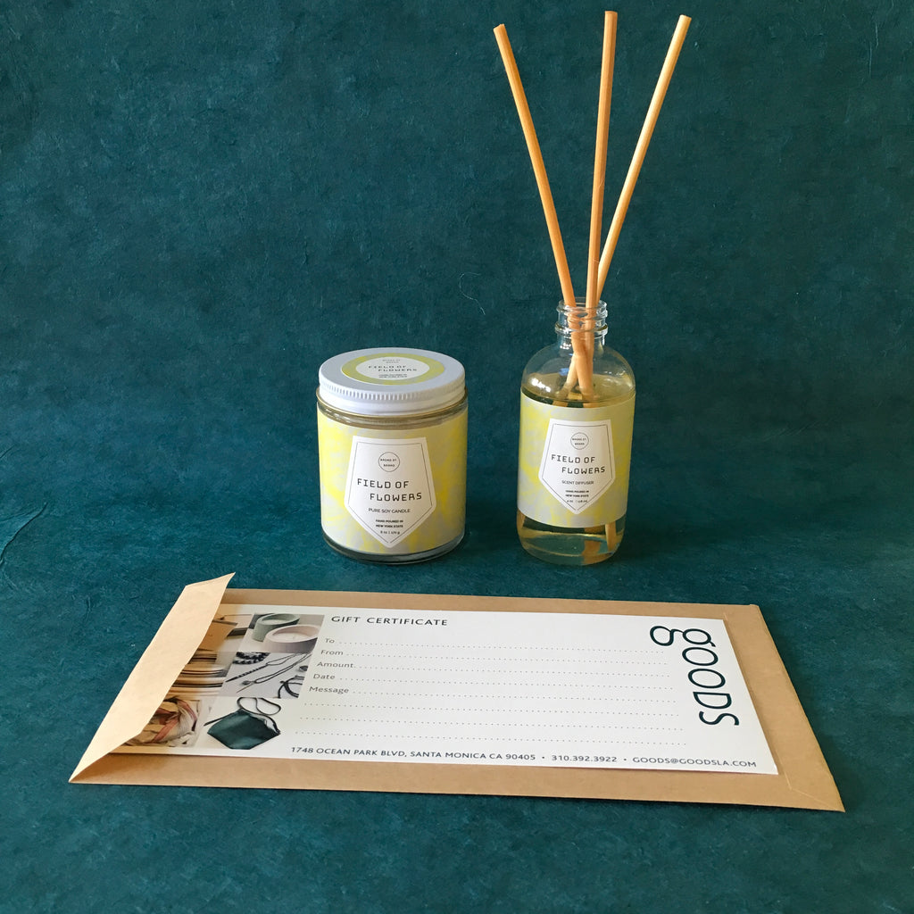Candle + Diffuser Bundle- Field of Flowers