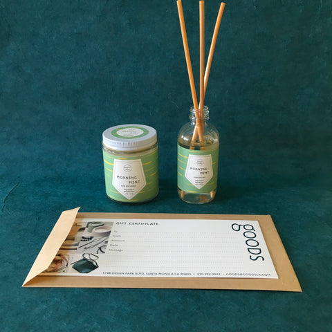 Candle + Diffuser Bundle- Morning Mint