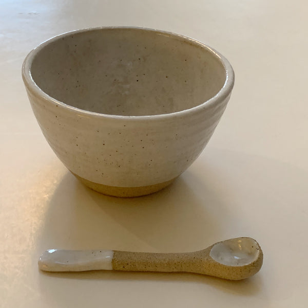 Salt Dish + Spoon