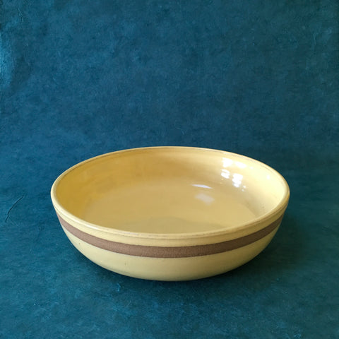Yellow Stripe Bowl