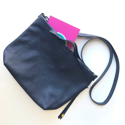 Leather Mini Shopper