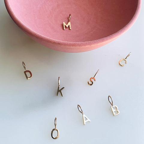 Danielle Morgan Jewelry - 14k Gold Initial Charms