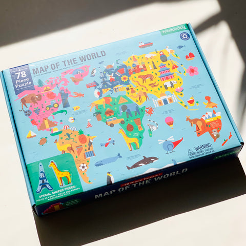 Map of the World Puzzle