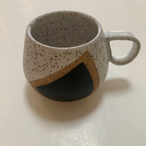 Ceramic Mug- White Speckled