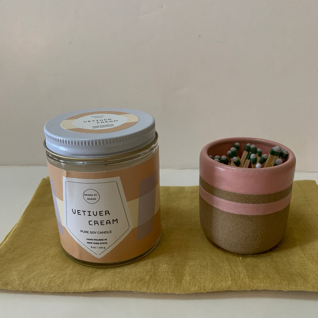 Vetiver Cream- Candle