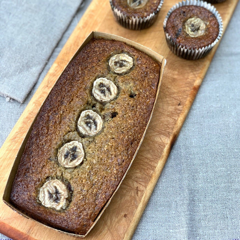 Organic GF Banana Loaf - { Available only on Saturdays ,please PREORDER by Friday }