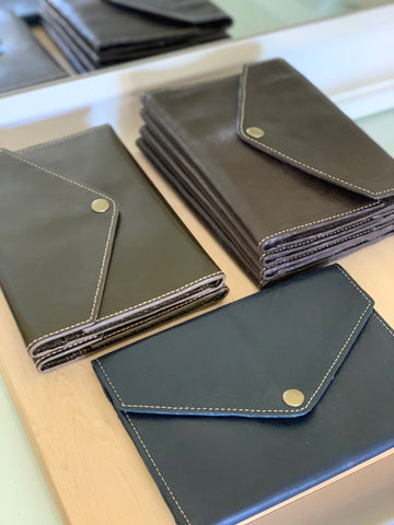 AHA Bolivia - Leather Trifold Snap Wallet