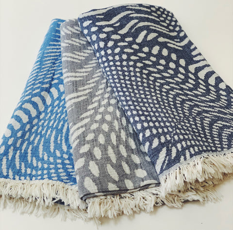 Geo Throw Blanket / Towel