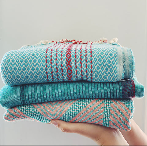 Towel -Turquoise Collection