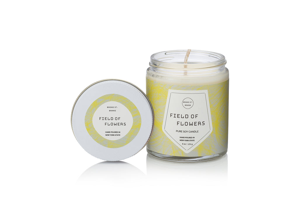 Field of Flowers- Candle