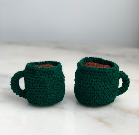 Crocheted Coffee Mugs
