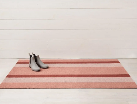 Chilewich Mat- Peach Stripe