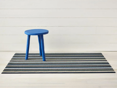 Chilewich Mat- Even Stripe in Ocean