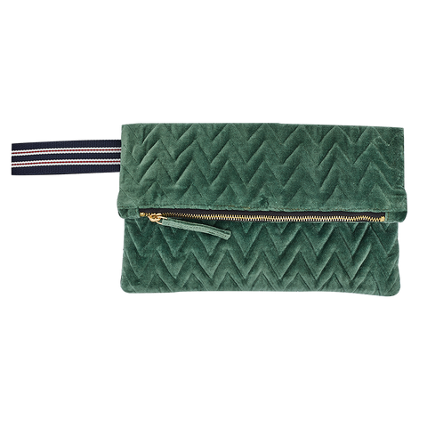 """Pochette"" Clutch Bag - Green"