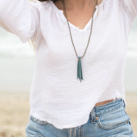 Tranquil Tassel Necklace
