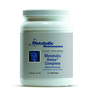 Metabolic Detox Complete - Chocolate Natural Chocolate