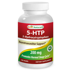 5-HTP 200 Mg 120 Vcaps - Double Potency