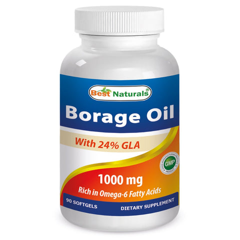 Borage Oil 1000 mg 90 Softgels