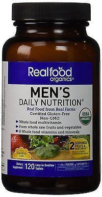 MEN'S DAILY NUTRITION 120 EASY-TO-SWALLOW TABLETS