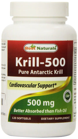 Krill-500 Antarctic Krill, 120 Softgels