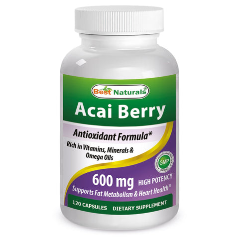 Acai Berry 600mg 120 caps