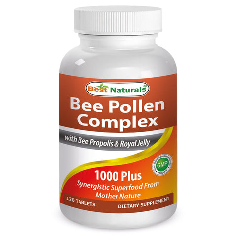 Bee Pollen Complex 1000 Mg 120 Tablets