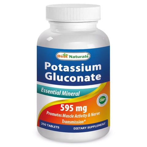 Potassium Gluconate 595 mg 250 Tablets