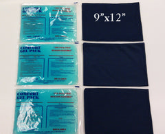 9 x 12 Ice Pack with sleeves (3 sets)