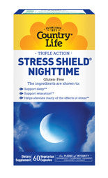 STRESS SHIELD NIGHTTIME 60 VEGETARIAN CAPSULES