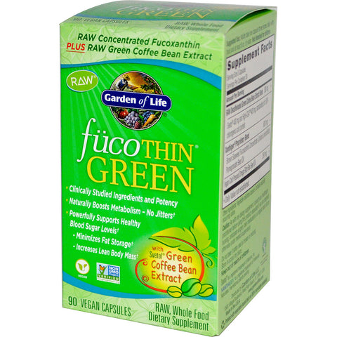 FucoThin Green - 90 Capsules