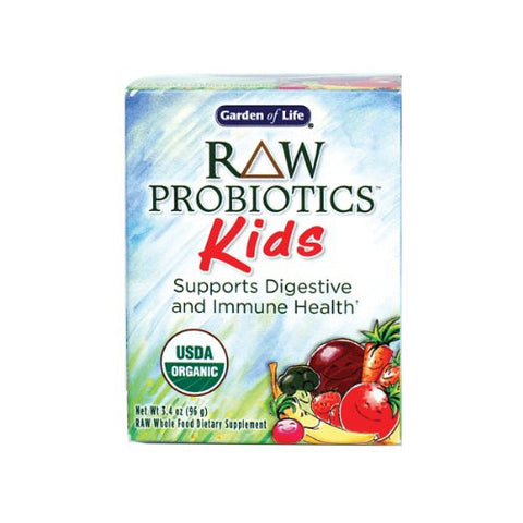 RAW Organic Probiotic Kids - 96g Powder