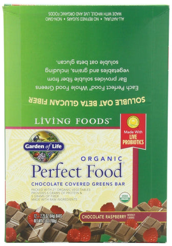 Organic Perfect Food Chocolate 64 gram bar (12 bars)