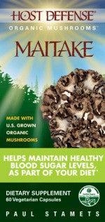Host Defense Maitake Capsules - 120ct