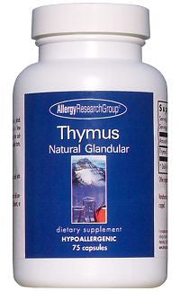 Thymus Natural Glandular 75 Caps