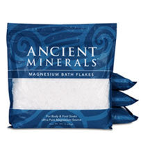 Ancient Minerals Magnesium Bath Flakes - 32lb
