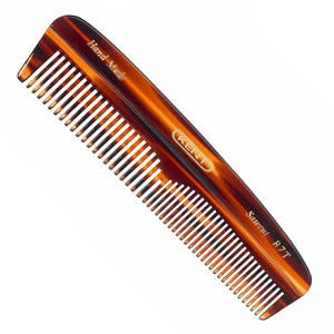 Men's Coarse & Fine Toothed Small Pocket Comb 143mm/5.63""