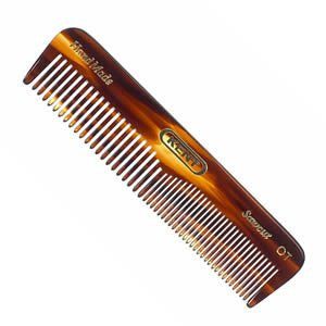 Men's Coarse & Fine Toothed Small Handmade Pocket Comb