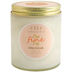 One Fine Day Shea Sugar Facial Polish - 6 oz